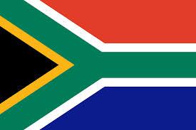 Flagge Süd Afrika